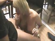 Excellent sexe avec une blonde mature