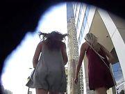 Caméra cachée en public